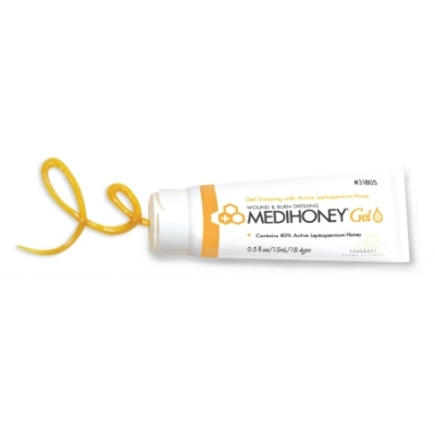 Wound and Burn Dressing MEDIHONEY® Gel 0.5 oz. Tube Sterile