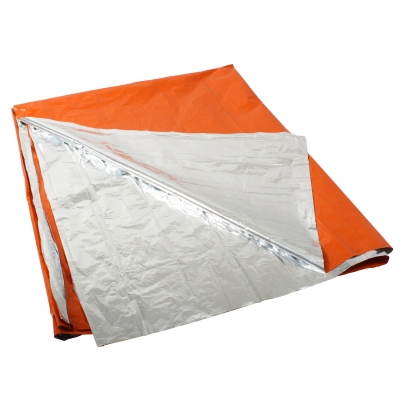 Orange Polarshield Survival Blanket