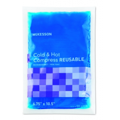 Hot / Cold Pack Large Reusable 6.75 X 10-1/2 Inch