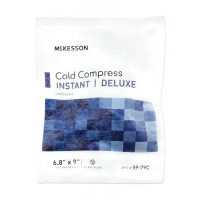 Instant Cold Pack General Purpose Large 6.8 X 9 Inch Soft Cloth