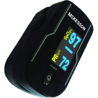 Finger Pulse Oximeter Battery Operated Without Alarm