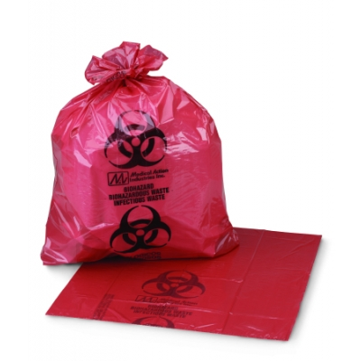 Infectious Waste Bag Medi-Pak™ ULTRA-TUFF™ 24 X 24 Pack of 250