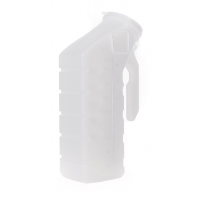 Male Urinal 32 oz. / 1000 mL With Cover
