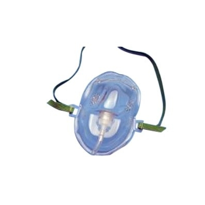 Oxygen Mask AirLife® Elongated Adult Adjustable Elastic Head Strap