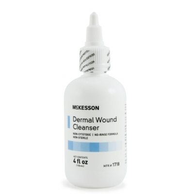 Dermal Wound Cleanser 4 oz. Squeeze Bottle