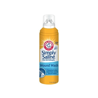 Wound Wash Simply Saline™ 7.1 oz. Pump Spray Can
