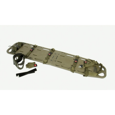 Tactical Field Spinal Backboard Immobilization Kit, Olive Drab