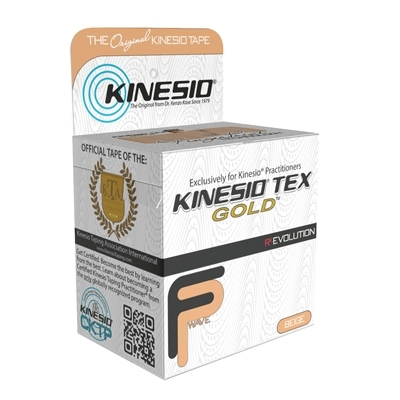 Kinesiology Tape Kinesio® Tex Gold™ Water Resistant 2 Inch X 5-1/2 Yd