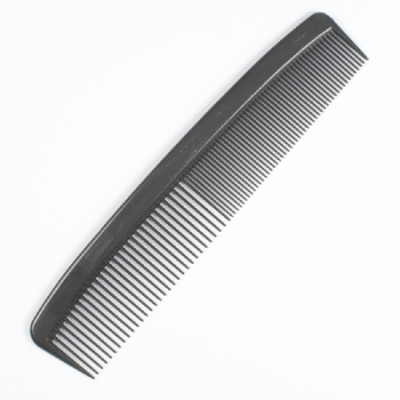 Comb 5, 7, or 9 Inch Black Plastic
