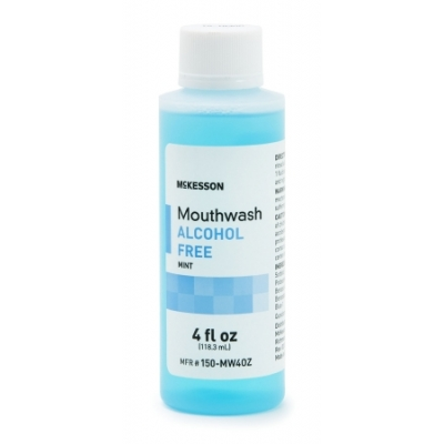 Mouthwash 4 oz. Mint Flavor