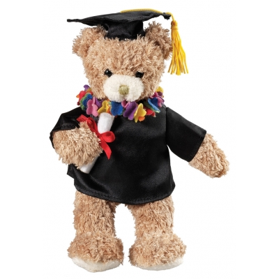 Plush Graduation Bear Gift Toy Animal Stuffed