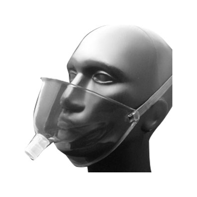 Oxygen Face Tent Salter Labs® Under the Chin Adult Neck Strap