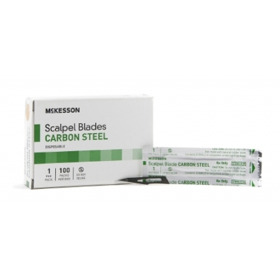 Surgical Blade Size 11 Carbon Steel 100 Pack