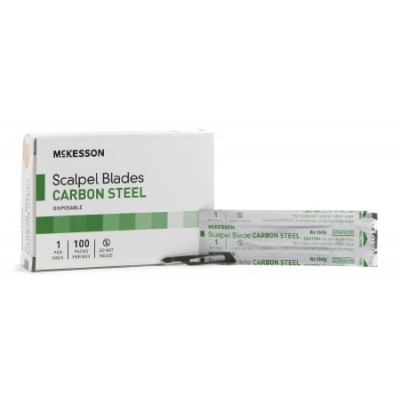 Surgical Blade Size 15 Carbon Steel 100 Pack