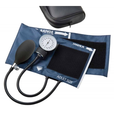 Aneroid Sphygmomanometer Hand Held 2-Tube Adult
