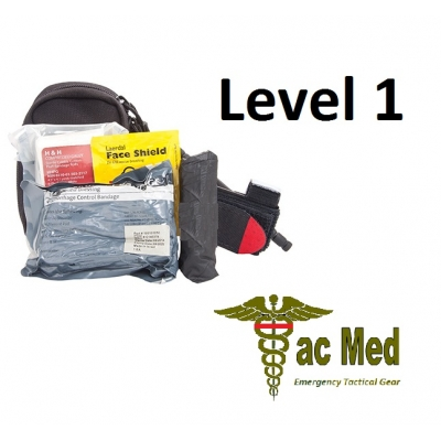 Tac Med Compact Tactical Responder Kit Level One