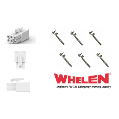Whelen 6 Pin Mini with 6 Sockets for Wecan - LED Hideways etc