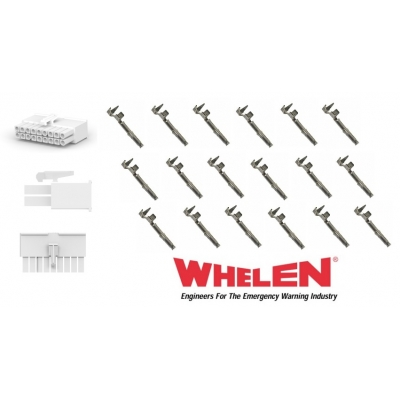 Whelen 18 Pin Mini with 18 Sockets for Wecan & Others