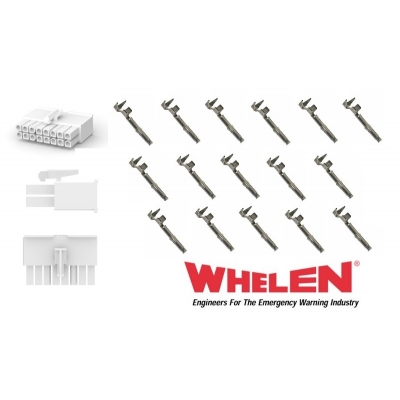 Whelen 16 Pin Mini with 16 Sockets
