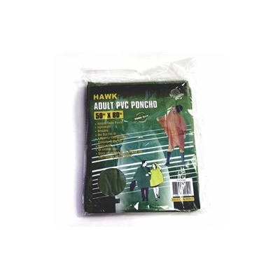 C.E.R.T. Emergency Poncho Forest Green