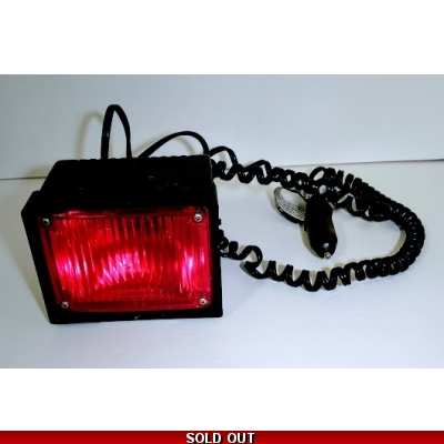 Red Whelen Dash Master Single Strobe