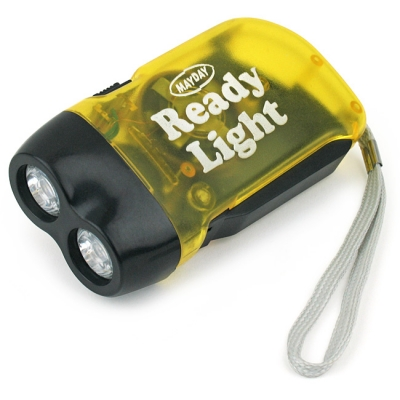 Emergency Ready Light Dynamo Flashlight