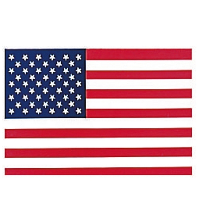 American USA  Flag Decal
