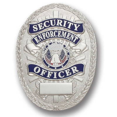 Security Enforcement Officer Oval Badge