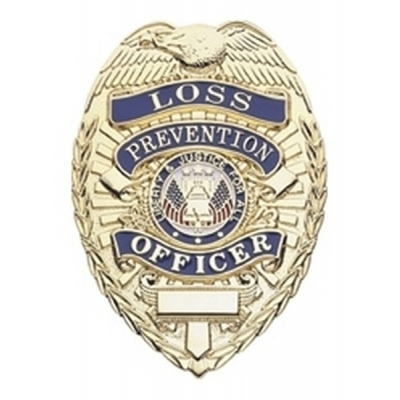 Loss Prevention Officer Shield Badge