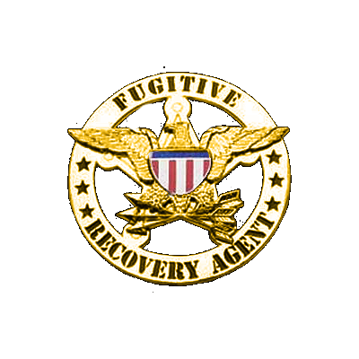 Fugitive Recovery Agent Badge Gold