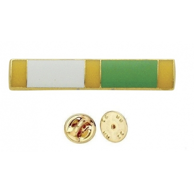 Commendation Bar Yellow White & Green