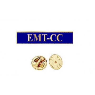 Commendation Bar EMT CC Emergency Medical Technician Critical Care