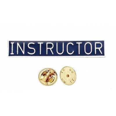 Commendation Bar Instructor