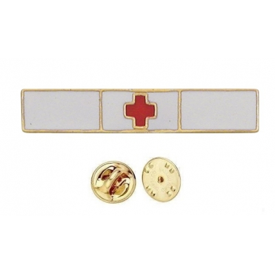 Commendation Bar Life Saving Red Cross