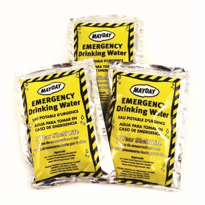 Emergency Drinking Water Pouch 4.25 oz