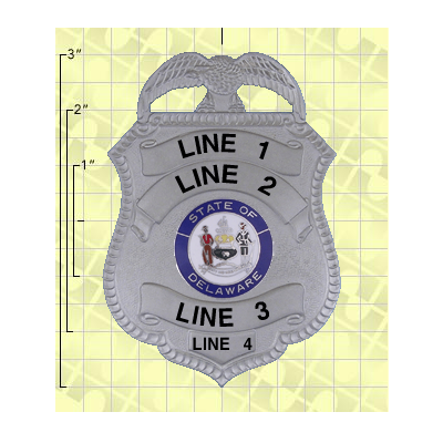 Quick Ship 2 Weeks Custom Fire Rescue Police Security Badge 5