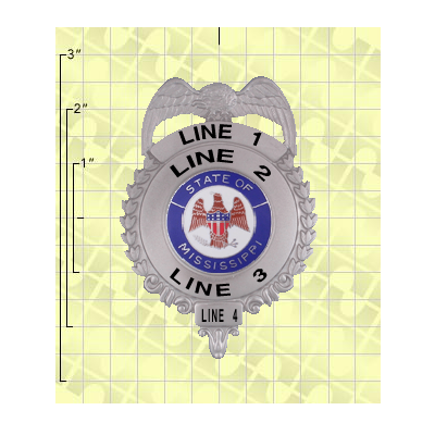 Quick Ship 2 Weeks Custom Fire Rescue Police Security Badge 6