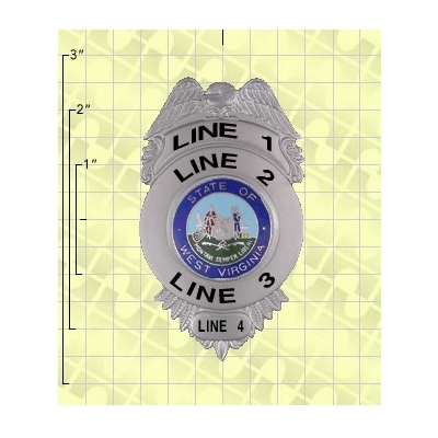 Quick Ship 2 Weeks Custom Fire Rescue Police Security Badge 8