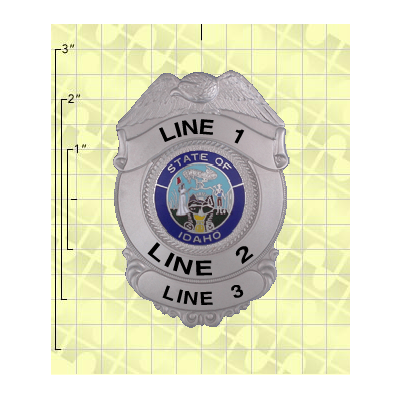 Quick Ship 2 Weeks Custom Fire Rescue Police Security Badge 9