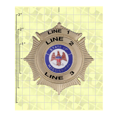 Quick Ship 2 Weeks Custom Fire Rescue Police Security Badge 11