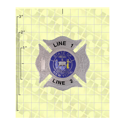 Quick Ship 2 Weeks Custom Fire Rescue Police Security Badge 13