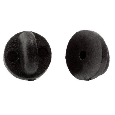 Rubber - Plastic Clutch Backs Tacs Insignia Backing