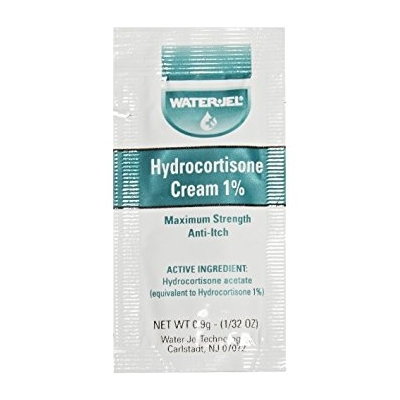 Itch Relief Hydrocortisone Cream 0.9 Gram Individual Packet