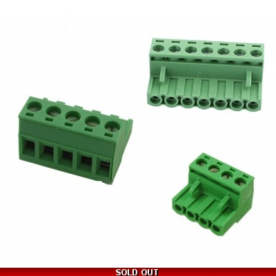 MPC01 Whelen Controller Connector Kit 4 - 5 & 7 Pin L contacts