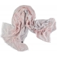 Light Dusty Pink Silk Shawl