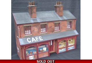 Cafe and confectionary shop