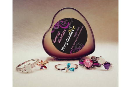 Bling Candles Jewelry Candles