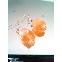 Citrine Earrings - Tumbledst..