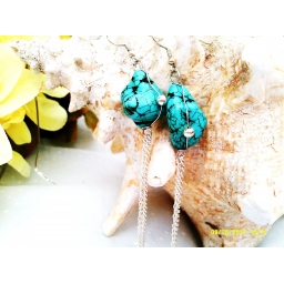 Turquoise Long Earrings