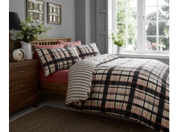 CROWN CHECK DUVET SET 1..